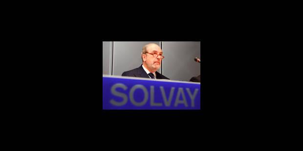 Solvay explique les 309 millions perdus à cause de Fortis - La Libre