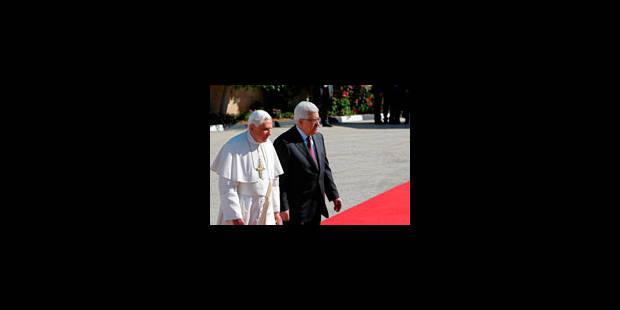 Benoît XVI pour une patrie palestinienne souveraine - La Libre