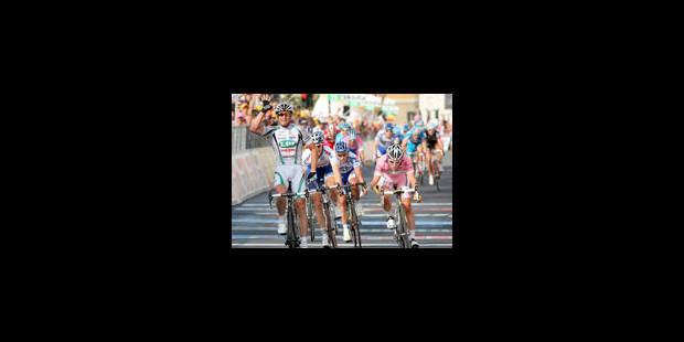 Alessandro Petacchi domine Mark Cavendish - La Libre
