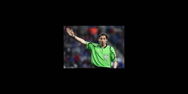 Johan Verbist arbitrera Anderlecht-Standard - La Libre