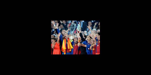 Le Barça est champion d'Europe - La Libre