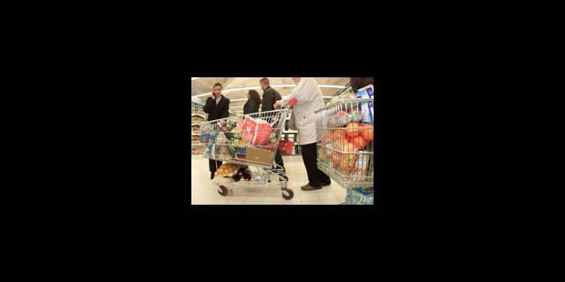 Le panier de la ménagère a diminué de 3,34% - La Libre