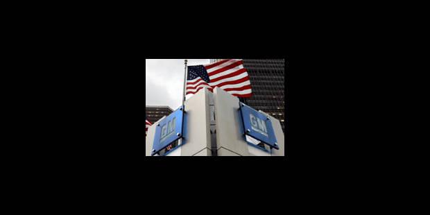General Motors se place en faillite - La Libre