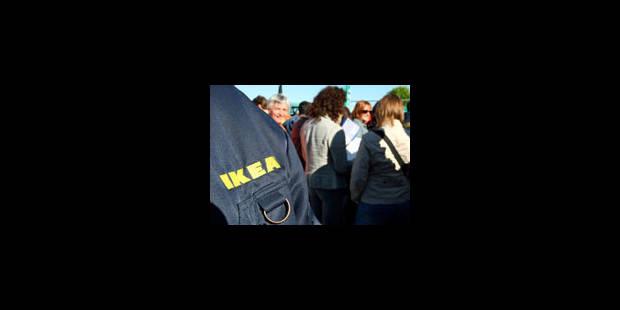 Le travail reprendra vendredi chez Ikea - La Libre