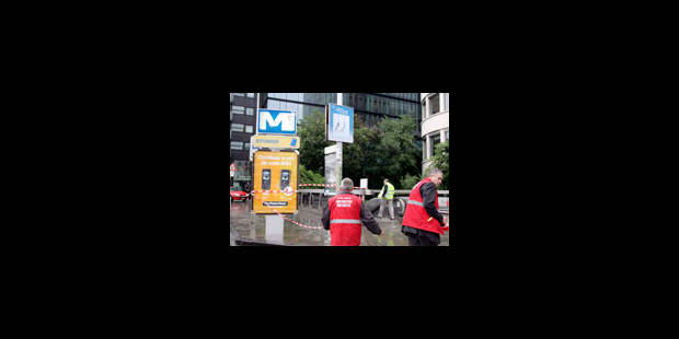 La station de métro Botanique ne rouvrira pas avant vendredi - La Libre