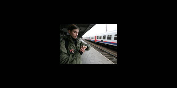 4 trains sur dix roulent sur la ligne Bruxelles-Mons - La Libre