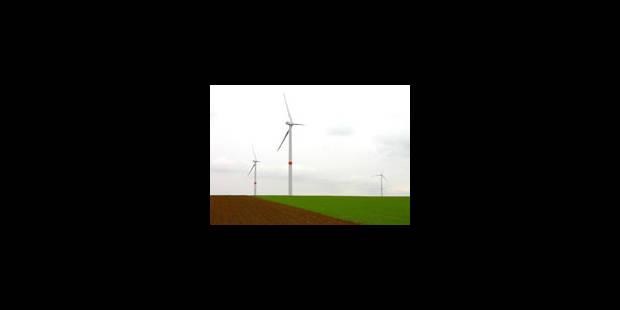 Deux éoliennes par village - La Libre