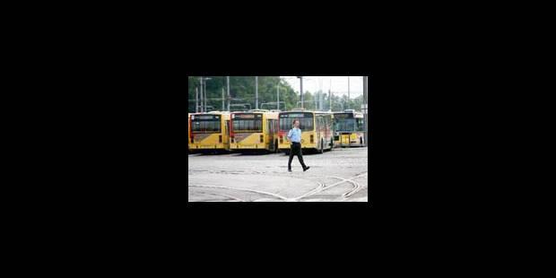 Grève au TEC Hainaut: La Louvière et Mons restent les plus touchés - La Libre