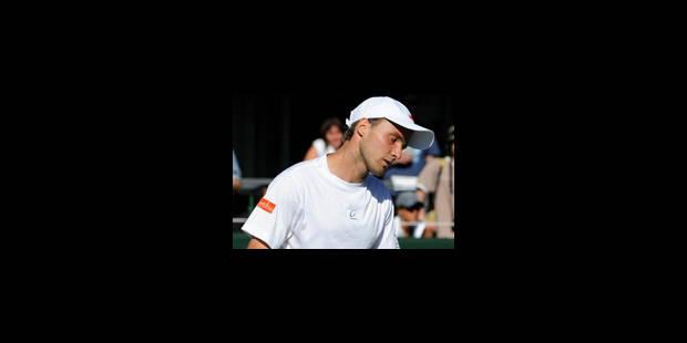 Christophe Rochus éliminé au 1er tour - La Libre