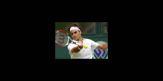 Federer passe le premier tour - La Libre