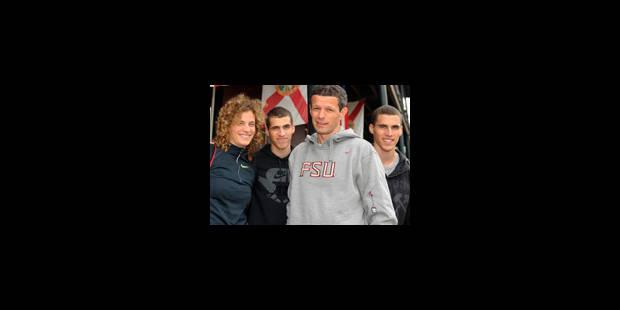 La famille Borlée prépare les championnats du monde de Berlin - La Libre