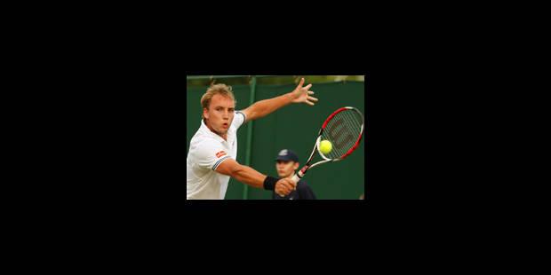 Steve Darcis éliminé au 2e tour - La Libre