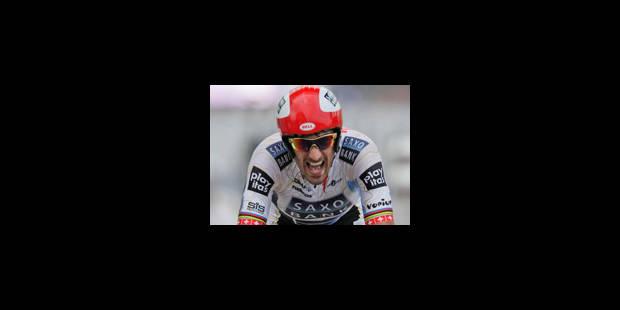 1re étape: victoire de Cancellara - La Libre