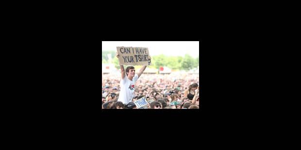 Rock Werchter: 80.000 personnes pour le 3e jour - La Libre
