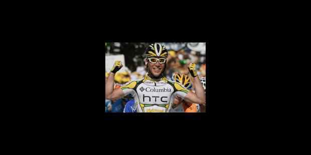 Cavendish remporte la deuxième étape - La Libre