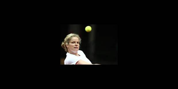 Kim Clijsters disputera le tournoi de Luxembourg - La Libre