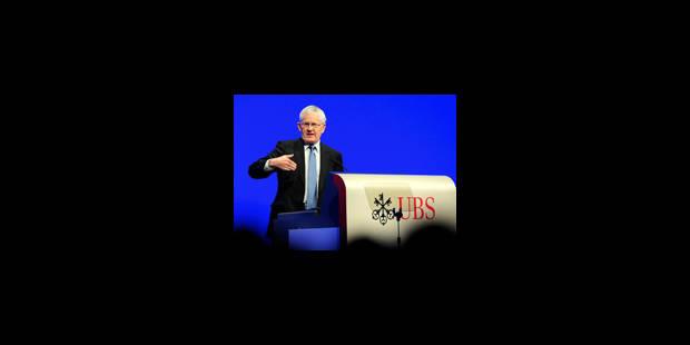UBS : bras de fer avec Washington - La Libre
