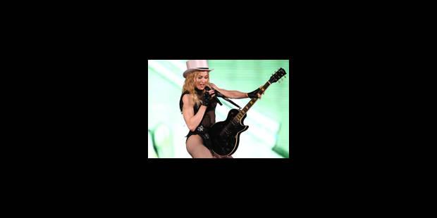 Tic-tac. Madonna, la reine du show - La Libre