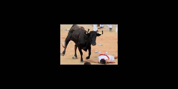 Cinq blessés légers après un lâcher de taureaux à San Fermin - La Libre