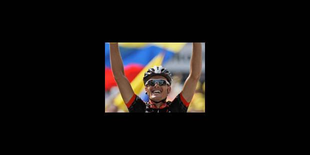 Luis Leon Sanchez au finish ! - La Libre