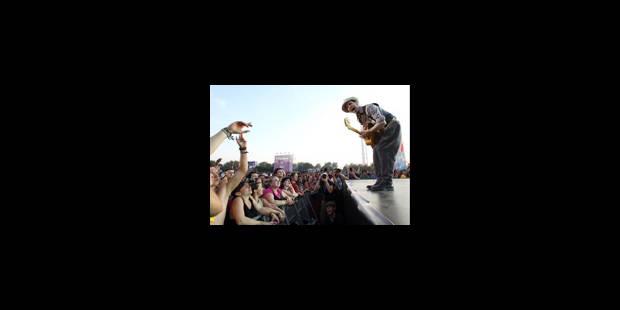 Santigold, l'acrobate de Dour - La Libre