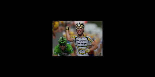 Tour de France: 5e victoire de Cavendish - La Libre