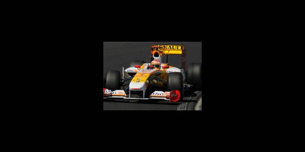 Fernando Alonso en pole position - La Libre