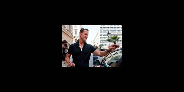 Schumacher au chevet de Massa à Budapest - La Libre