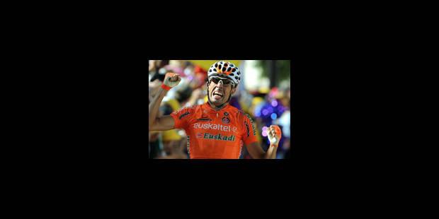 L'UCI suspend Mikel Astarloza après un contrôle positif - La Libre