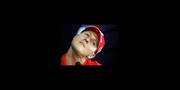 Le cou du sort pour Schumacher - La Libre