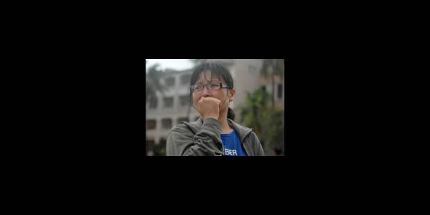 Typhon à Taïwan : une centaine de personnes ensevelies - La Libre