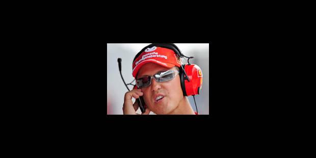 Michael Schumacher renonce à faire son retour en F1 - La Libre