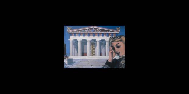 Paul Delvaux et l'Antiquité, à Andros avant Bruxelles