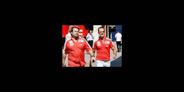 Ferrari prolongerait le contrat de Schumacher - La Libre