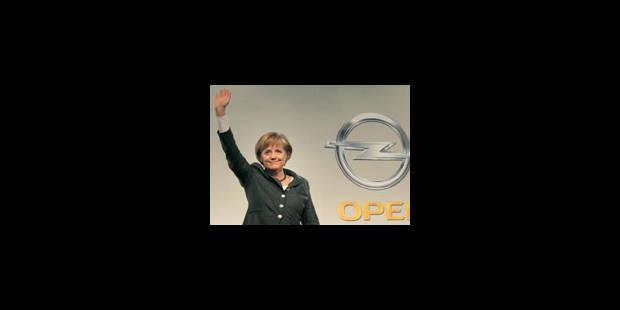 Opel: Merkel hausse à nouveau le ton contre GM