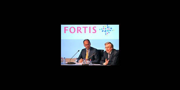 Fortis Holding se stabilise - La Libre