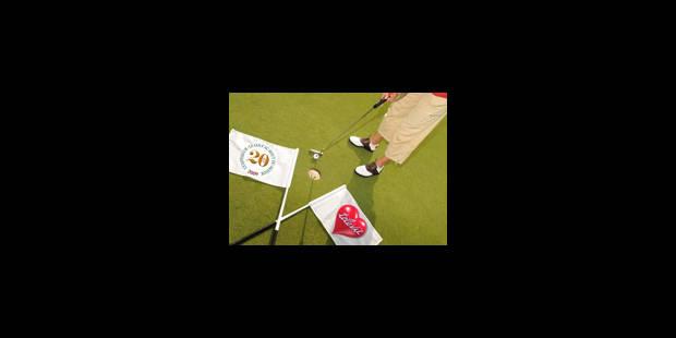 Golf et Télévie à l'Empereur - La Libre