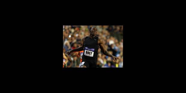 Van Damme: 4e chrono de tous les temps pour Bolt sur 200m - La Libre