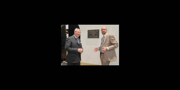 Charles Michel inaugure le consulat de Belgique à Lubumbashi - La Libre