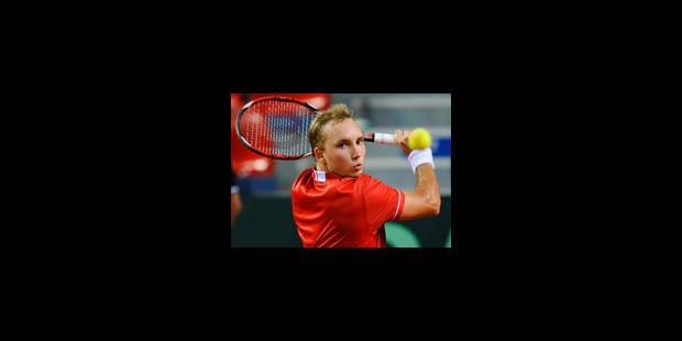 Coupe Davis: La Belgique réintègre le groupe mondial - La Libre