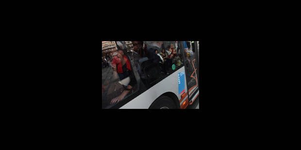 STIB : grève de chauffeurs de bus au dépôt Delta