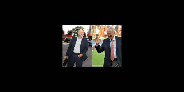 D'Onofrio et Vanden Stock se voient chez Alain Courtois - La Libre