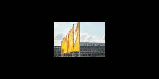 Berlin estime que l'usine Opel à Anvers n'est pas viable