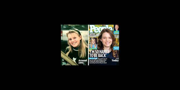 Premières photos de Jaycee Dugard depuis sa libération - La Libre