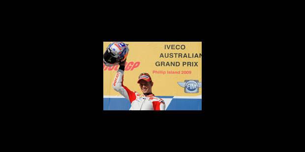 MotoGP: Victoire de Stoner devant Rossi - La Libre
