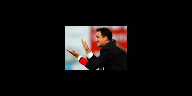 A. Jankovic, l'entraîneur licencié par Lokeren