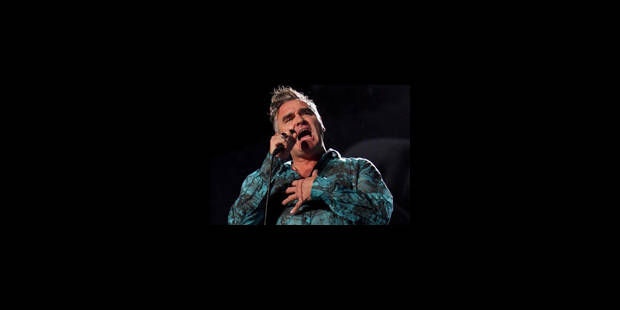 Morrissey sort de l'hôpital après un malaise sur scène - La Libre