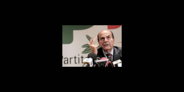 Bersani prend la Botte gauche - La Libre