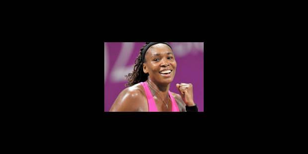 Venus face à Serena en finale du Masters - La Libre
