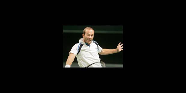 Olivier Rochus éliminé par Roger Federer - La Libre